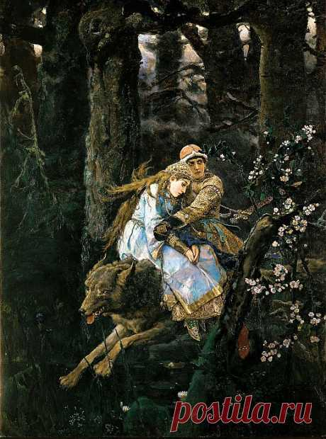 Иван Царевич на сером волке (картина) — Виктор Васнецов