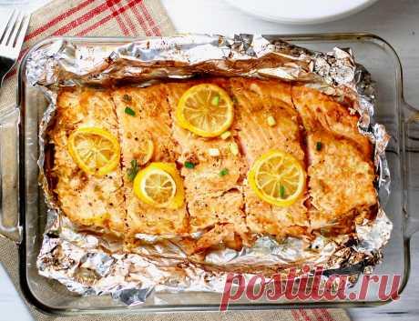 Lachs im Ofen - So wird der Fisch weich und saftig   Foodtempel