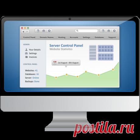 Панель управления хостингом и сервером от компании ProHoster позволяет управлять программным обеспечением, таким как веб-сервер, сервер баз данных, почтовый сервер и другими сопутствующими программами через веб-интерфейс. Купив панель управления вы легко сможете управлять доменами, сайтами и почтой даже без особых навыков администрирования, а также вам будет доступен большой набор функций: выбор версий PHP и MySQL, настройка бэкапов и разграничение прав для пользователей