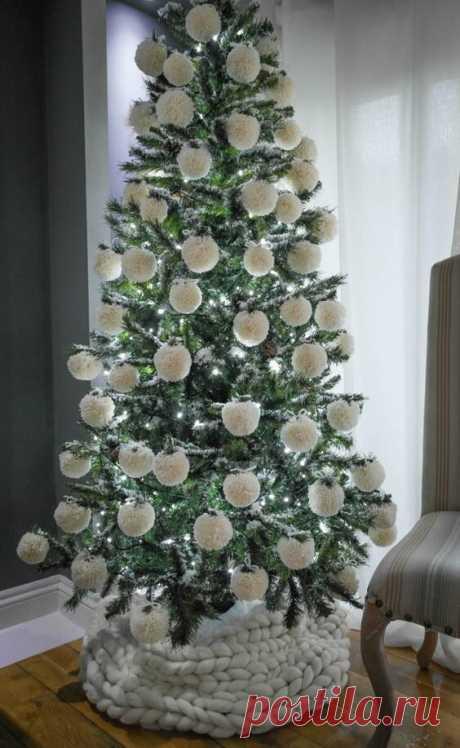 Новогодние помпоны Новогодние помпоныНовогодние помпоны это отличные идеи для украшения новогоднего праздника.Создавайте свою уникальную красоту и атмосферу праздника.