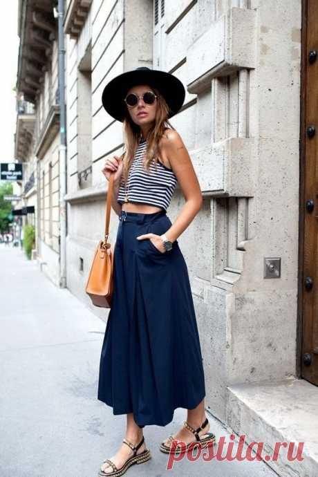 Повседневные образы с юбками. — Модно / Nemodno