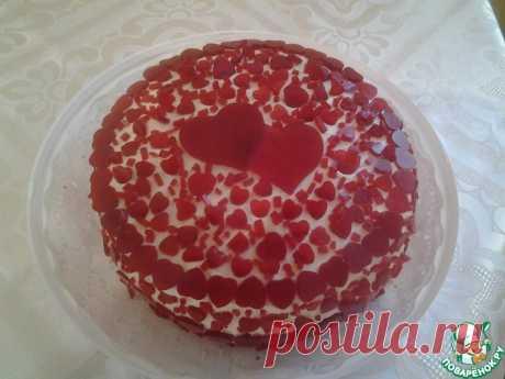 Рубиновый торт Кулинарный рецепт