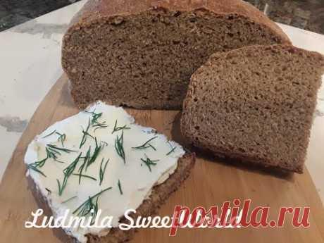 Пшенично - ржаной хлеб на закваске. Самый подробный рецепт.