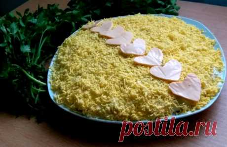 Салат Мимоза мой вариант — Кулинарная книга - рецепты с фото
