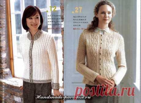 Женские модели спицами. Журнал со схемами - Handmade-Paradise