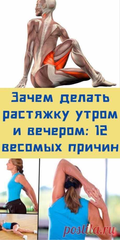 Зачем делать растяжку утром и вечером: 12 весомых причин - likemi.ru
