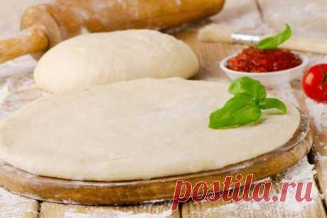 Супер тонкое и вкусное тесто для пиццы по итальянски | Краше Всех