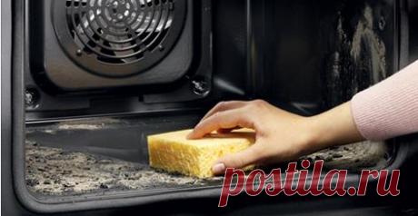 Простой способ очистить духовку до блеска!