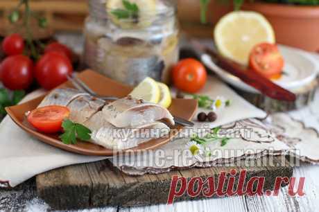 Маринованная селедка в соевом соусе   Домашний Ресторан