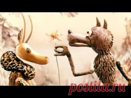 Волк и семеро козлят на новый лад (1975). Кукольный советский мультик | Золотая коллекция