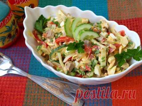 Как приготовить салат бахор - рецепт, ингредиенты и фотографии