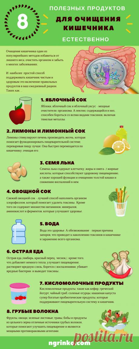Как очистить кишечник и похудеть на 15 кг, используя 2 ингредиента