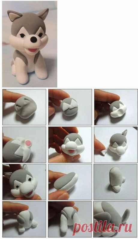 Как лепить из полимерной глины для начинающих. Фото пошагово, видео