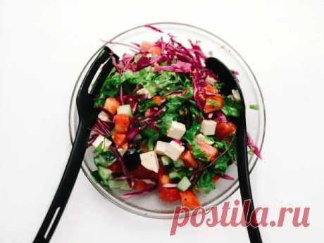Идеальный летний салат, готовлю каждый день