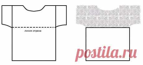 Апсайклинг футболки с помощью Крючка Вязального   Аmazing Ideas Gallery   Яндекс Дзен