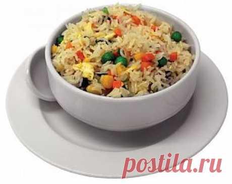 Вкусный рис с овощами | Женское счастье.