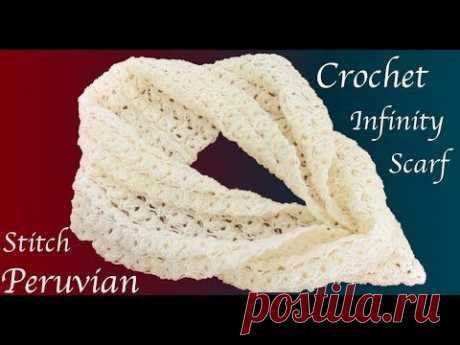 Bufanda a crochet punto espigas de trigo trenzadas en 3D Tejido tallermanualperu - YouTube