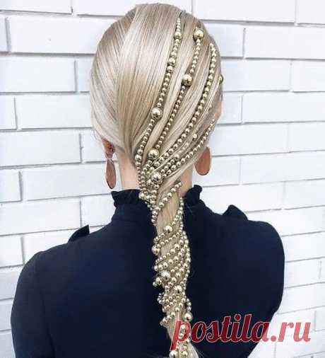 Красивые аксессуары для украшения волос