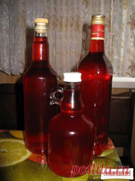 Вишневый ликер за 12 часов / Алкогольные напитки / Кукорама — вкусные рецепты!
