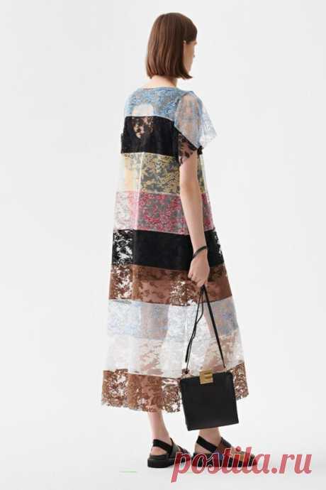 Кружевное платье футболка Модная одежда и дизайн интерьера своими руками