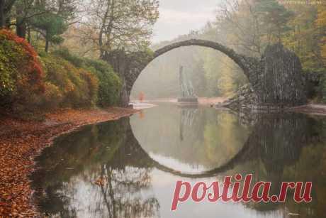 Мост Ракотцбрюке в Германии. Автор фото – Валерий Притченко.