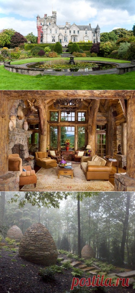 17 magic interiors and gardens as if from the fairy tale