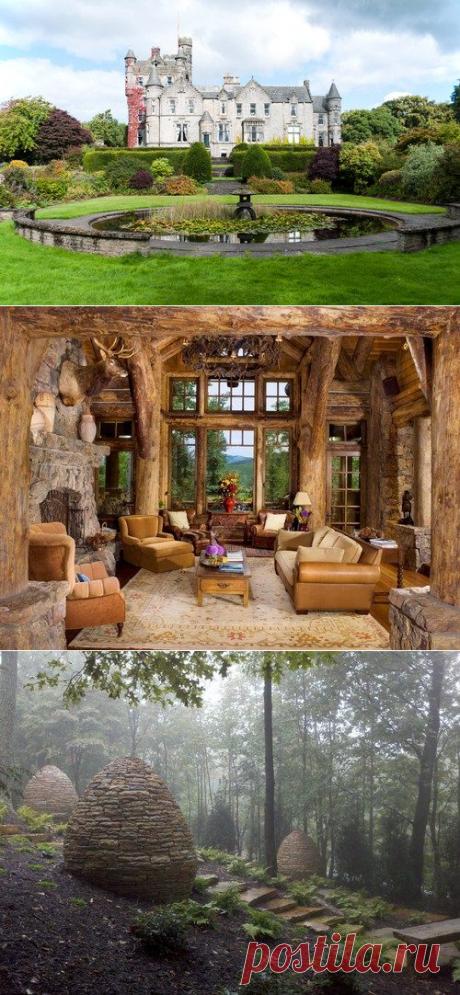 17 волшебных интерьеров и садов словно из сказки