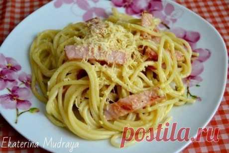 Как приготовить паста карбонара. - рецепт, ингридиенты и фотографии