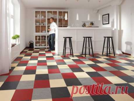 Linoleum for kitchen - how to understand what is better to choose a class and color?