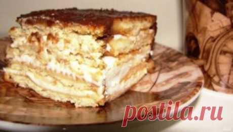 """Торт без выпечки """"Итальянские мотивы"""""""
