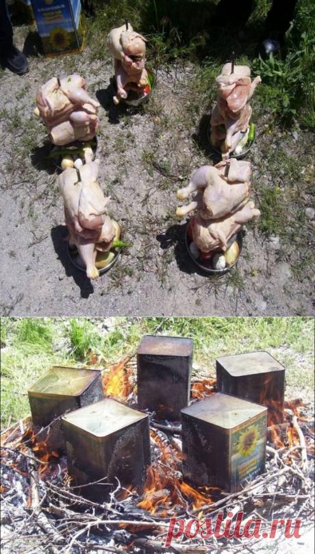 Как пожарить курицу… | Четыре вкуса