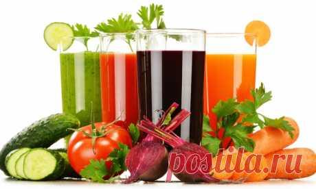 👀 Какие овощные соки самые полезные?