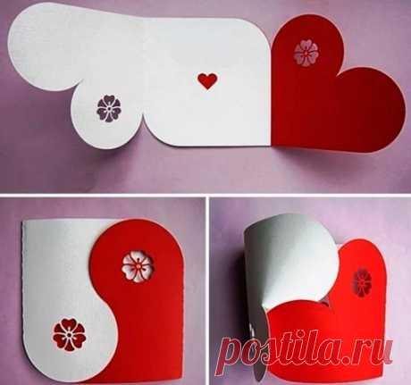 Валентинка своими руками: 30 идей, как сделать открытки-валентинки из бумаги