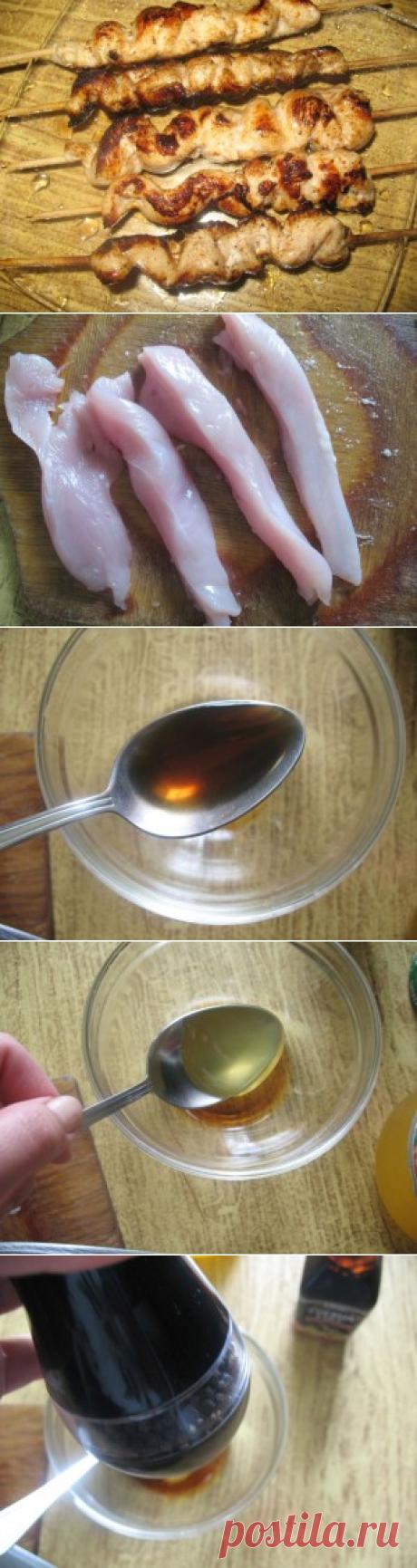 Куриные шашлычки | Кладовочка картинок