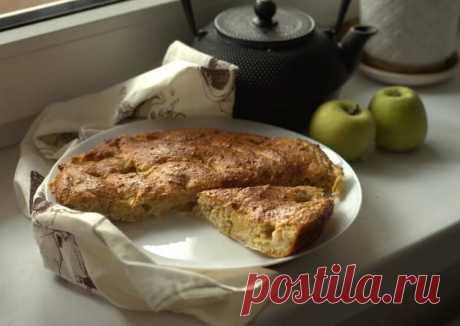 ПП пирог из овсянки с яблоками - пошаговый рецепт с фото. Автор рецепта Ольга Смирнова🌳 . - Cookpad