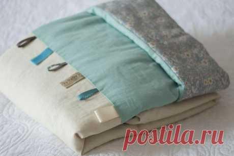 Как сшить детское одеяло своими руками