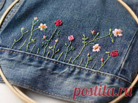 Многообразный декор джинсовых курток: 50 интересных вариантов | Журнал Ярмарки Мастеров