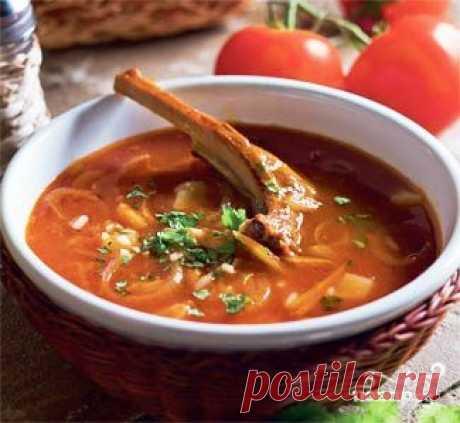 Суп харчо из баранины - пошаговый рецепт с фото на Повар.ру