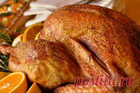 Курица, запеченная с апельсинами — Кулинария для всех