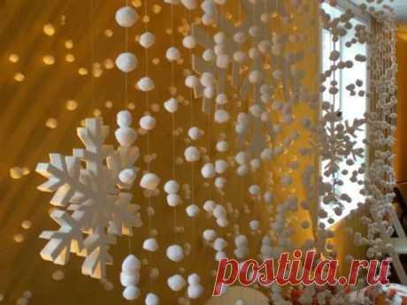 новогодние декорации своими руками: 13 тыс изображений найдено в Яндекс.Картинках