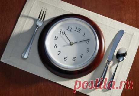 Как изменение времени приёма пищи влияет на Ваш вес и обмен веществ