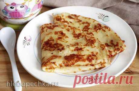 Блины заварные с картофелем и сыром - Хлебопечка.ру