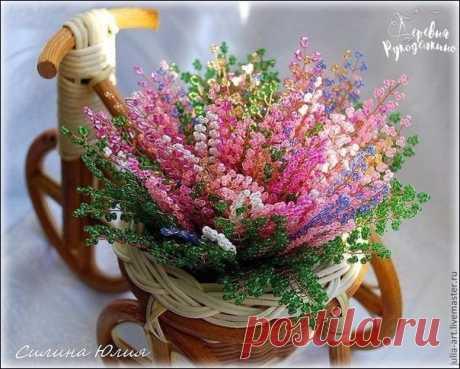 Цветок из бисера / Райская пища