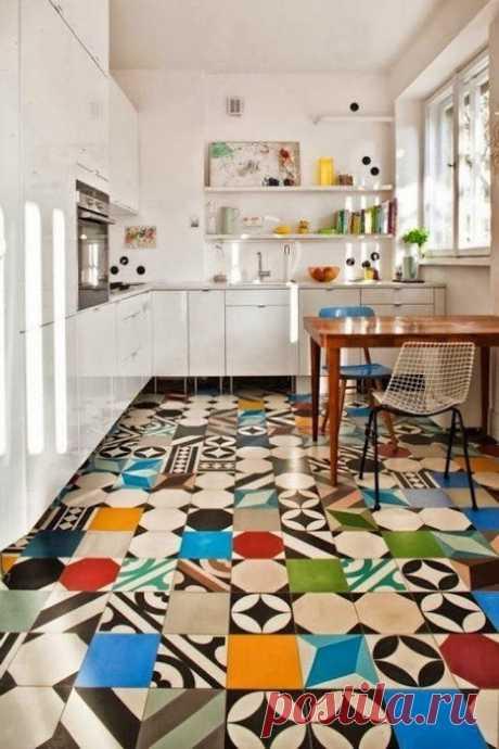 Что можно сделать с плиткой: 10 блестящих идей декора