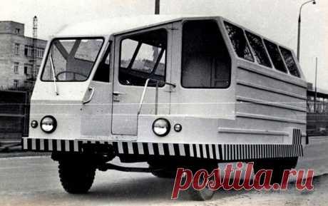 Парочка странных советских автомобилей, которые так и не пошли в серию