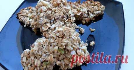 Батончики мюсли  овсяные с фруктами Питательные и богатые витаминами батончики идеальны для перекуса