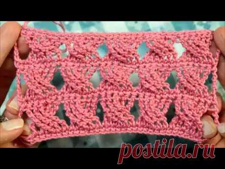 Вязание крючком. Узор. Crochet pattern.