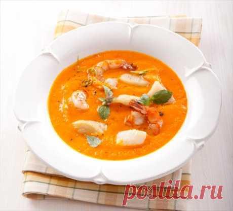 Пикантный суп из красного перца с сырными клецками - Кулинарные рецепты | EverydayMe Russia