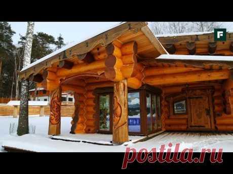 Традиции и необычные решения в строительстве. Баня «Сказка»: // FORUMHOUSE