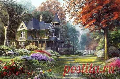 Доминик Дэвисон (Dominic Davison) и его сказочные пейзажи